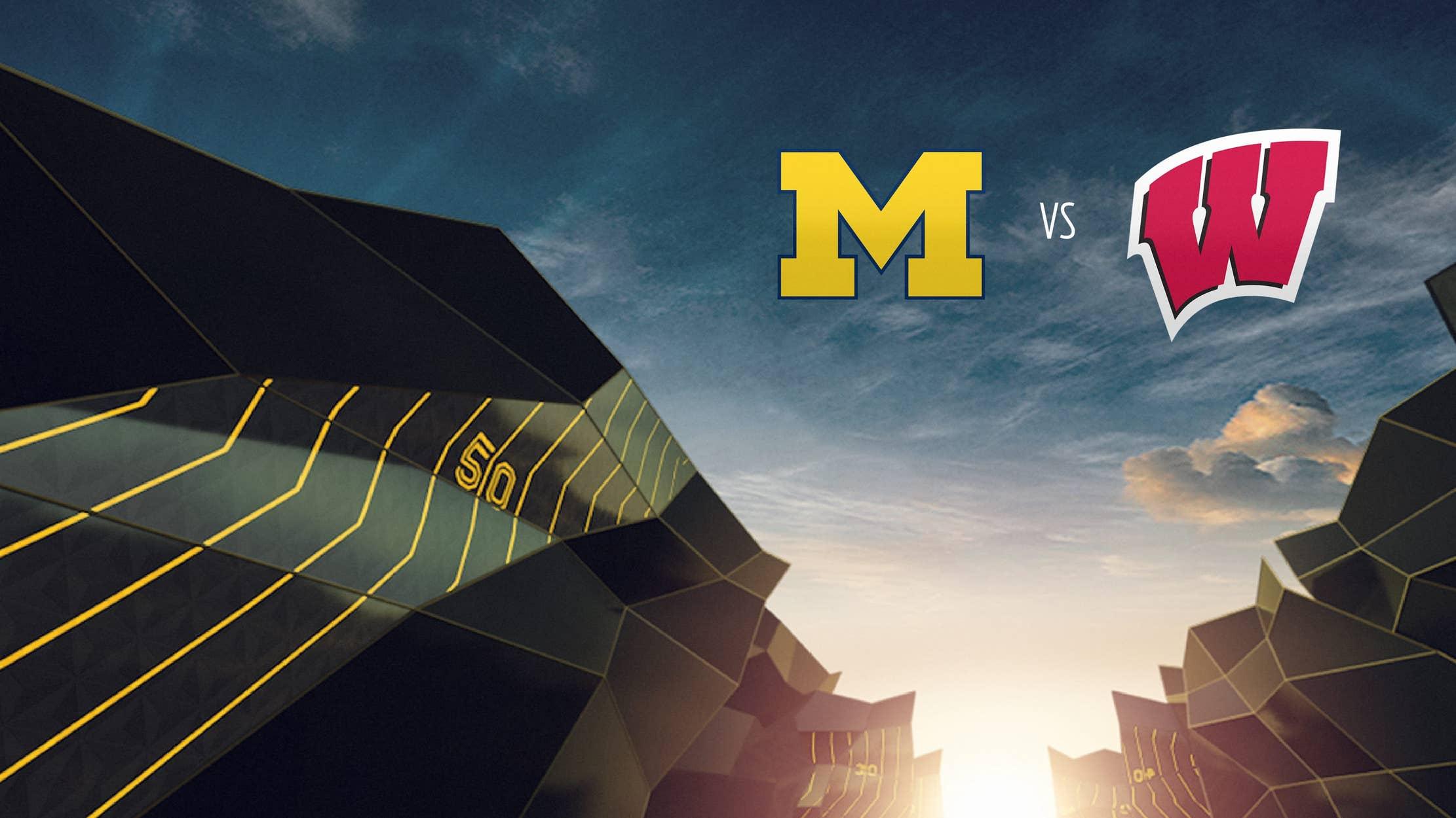 College Football - Michigan at Wisconsin seriesDetail