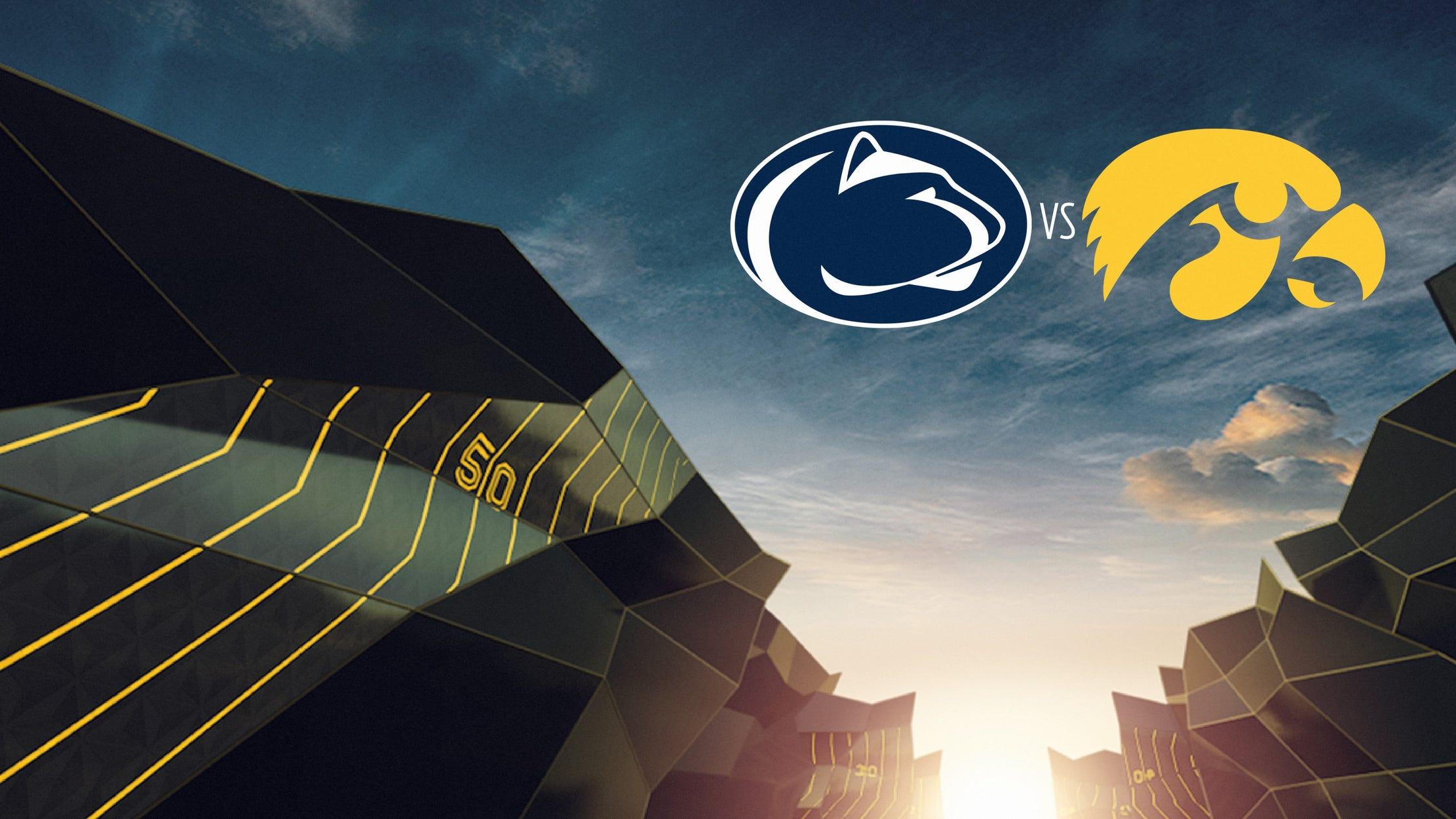 College Football - Penn St. At Iowa seriesDetail