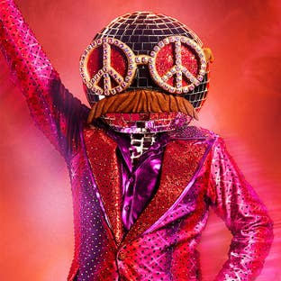Costume Disco Ball The Masked Dancer