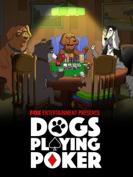Dogs Playing Poker dcg-mark-poster