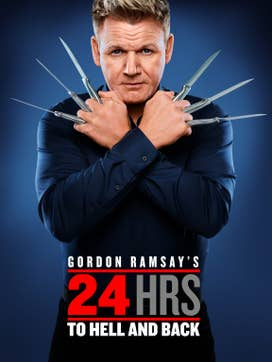 Gordon Ramsay's 24 Hours to Hell and Back dcg-mark-poster