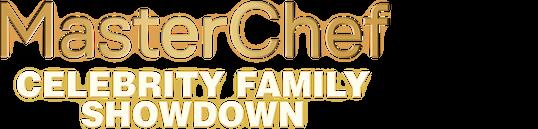 MasterChef Celebrity Family Showdown logo