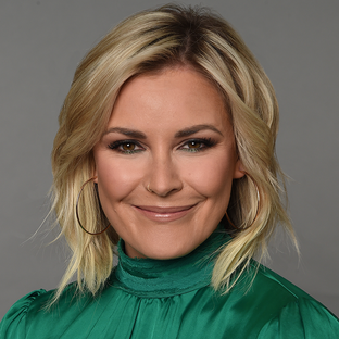 Host Renee Young WWE Friday Night SmackDown